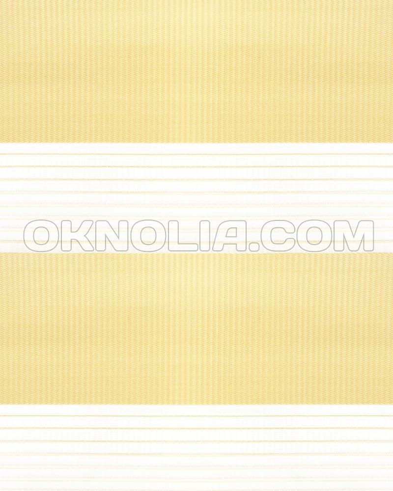 Тканевые ролеты День Ночь DN 206 светло-желтый, 100*170 см