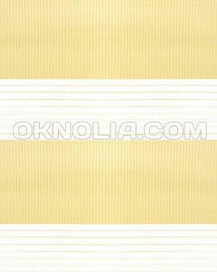 Тканевые ролеты День Ночь DN 206 светло-желтый, 50*170 см