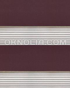Тканевые ролеты День Ночь DN 209 фиолетовый , 40*170 см