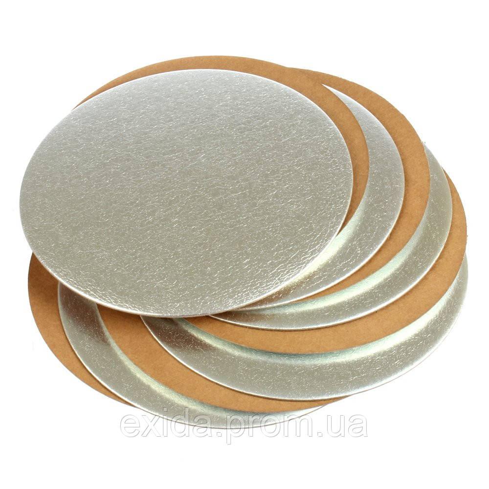 Подложка картонная для торта круглая диаметр 18 - Торгово-промышленная компания Exida.com.ua (093) 636-74-74  в Киеве