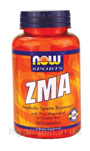 NOW Повышение тестостерона ZMA (90 caps)