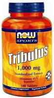 NOW Повышение тестостерона Tribulus 1000 mg (90 tabs)