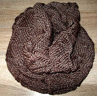 Хомут - восьмерка зимний коричневый