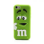 Силиконовый чехол для iPhone 5C M&M's (эм-энд-эмс)