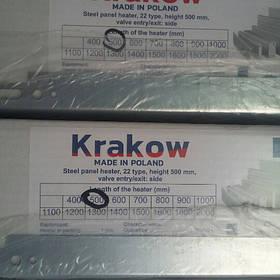 Стальной радиатор отопления { KRAKOW~ПОЛЬША }  22 тип 500х500 (965 Вт)