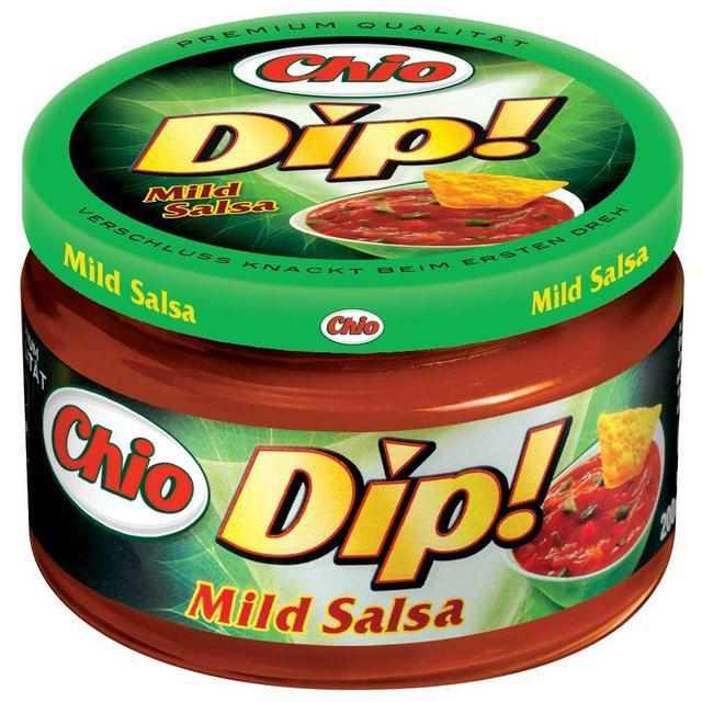 Chio Dip Hot Mild Salsa