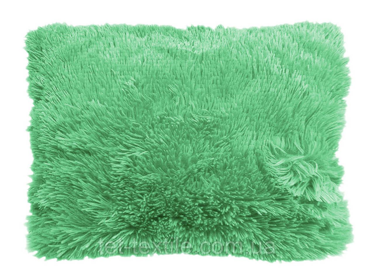 Наволочка с длинным ворсом мятная (50х70)