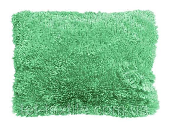 Наволочка с длинным ворсом мятная (50х70), фото 2