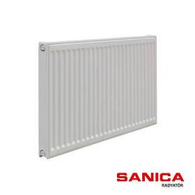 Стальной радиатор отопления Sanica 11 тип 500х600 (592 Вт)