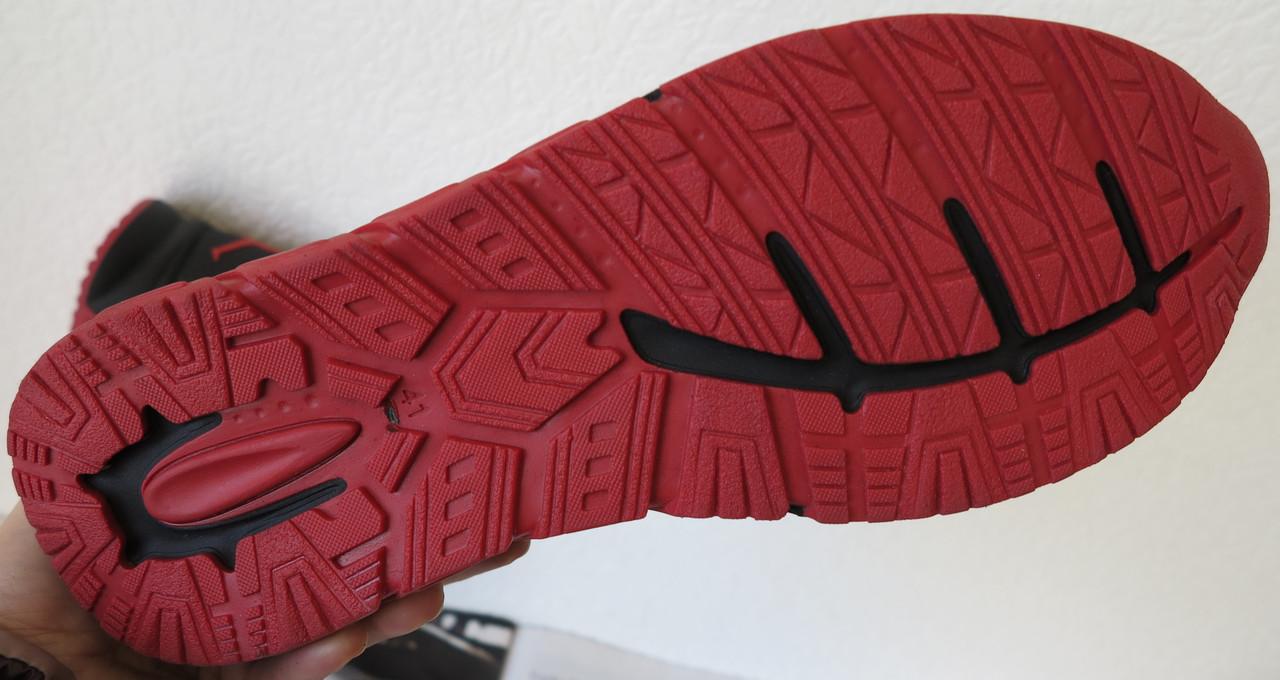 52520dd3 ... фото · Jordan RP зимние мужские кроссовки кожа черные с красным  натуральный мех шерсть зима комфорт, ...
