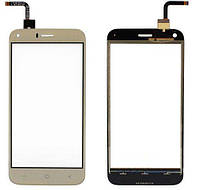 Сенсорный экран (тачскрин) S-Tell M621 золотистый