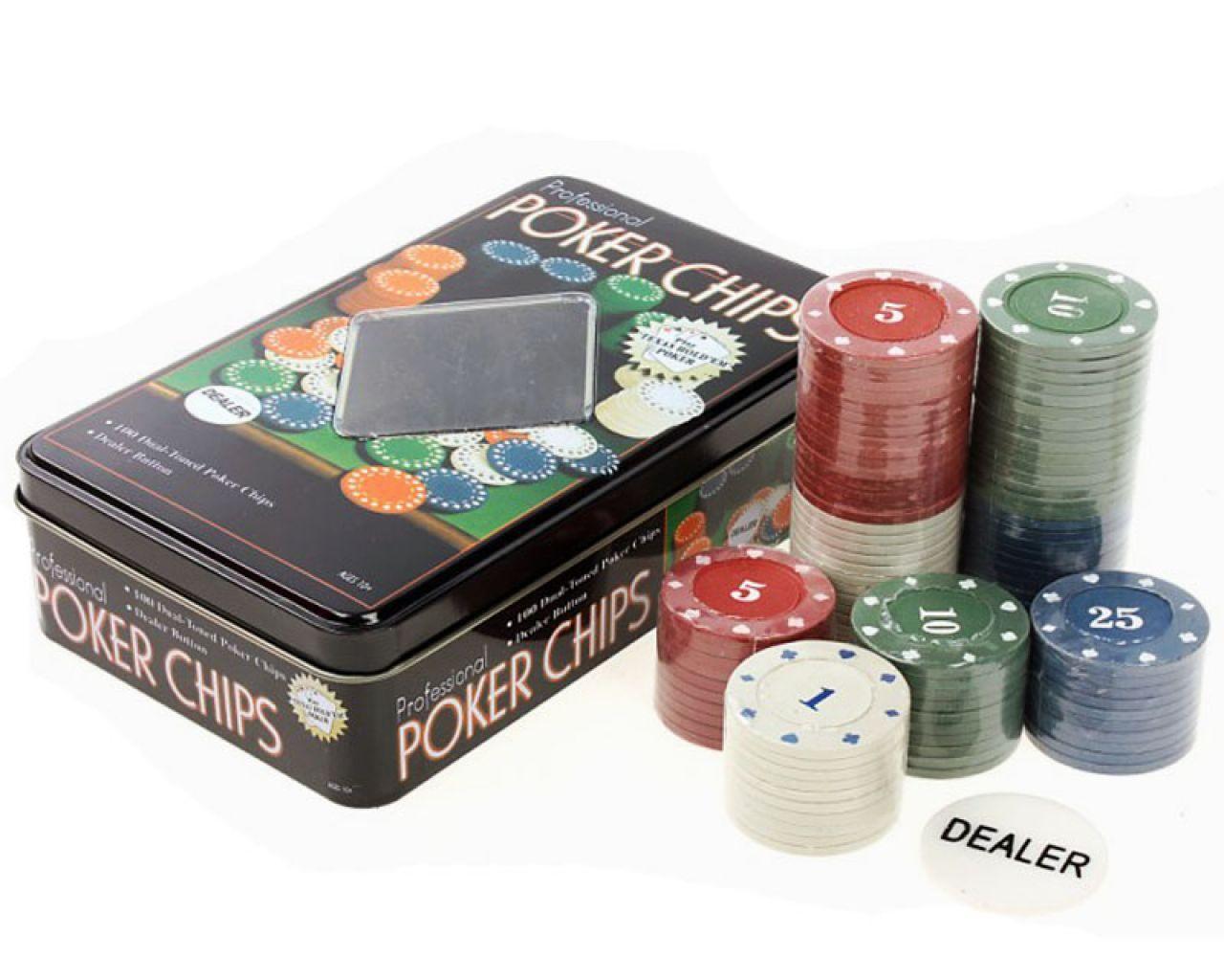 Покер набір 100T