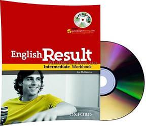 Английский язык / English Result / Workbook+CD. Тетрадь к учебнику с диском, Intermediate / Oxford