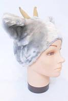 Шапочка Козленка, шапка для костюма Козленок, Козлик, баран, Козел, Коза, Козочка
