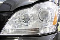 Mercedes-Benz GL 450 (X164) - инсталляция квадро Bi-Led линз