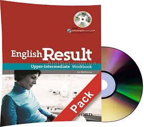 Английский язык / English Result / Workbook+CD. Тетрадь к учебнику с диском, Upper-Intermediate / Oxford