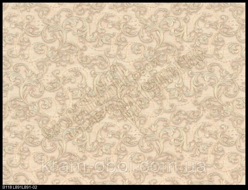 Обои Славянские Обои КФТБ виниловые горячего тиснения 10м*1,06 9В118 Богема2 L891-02