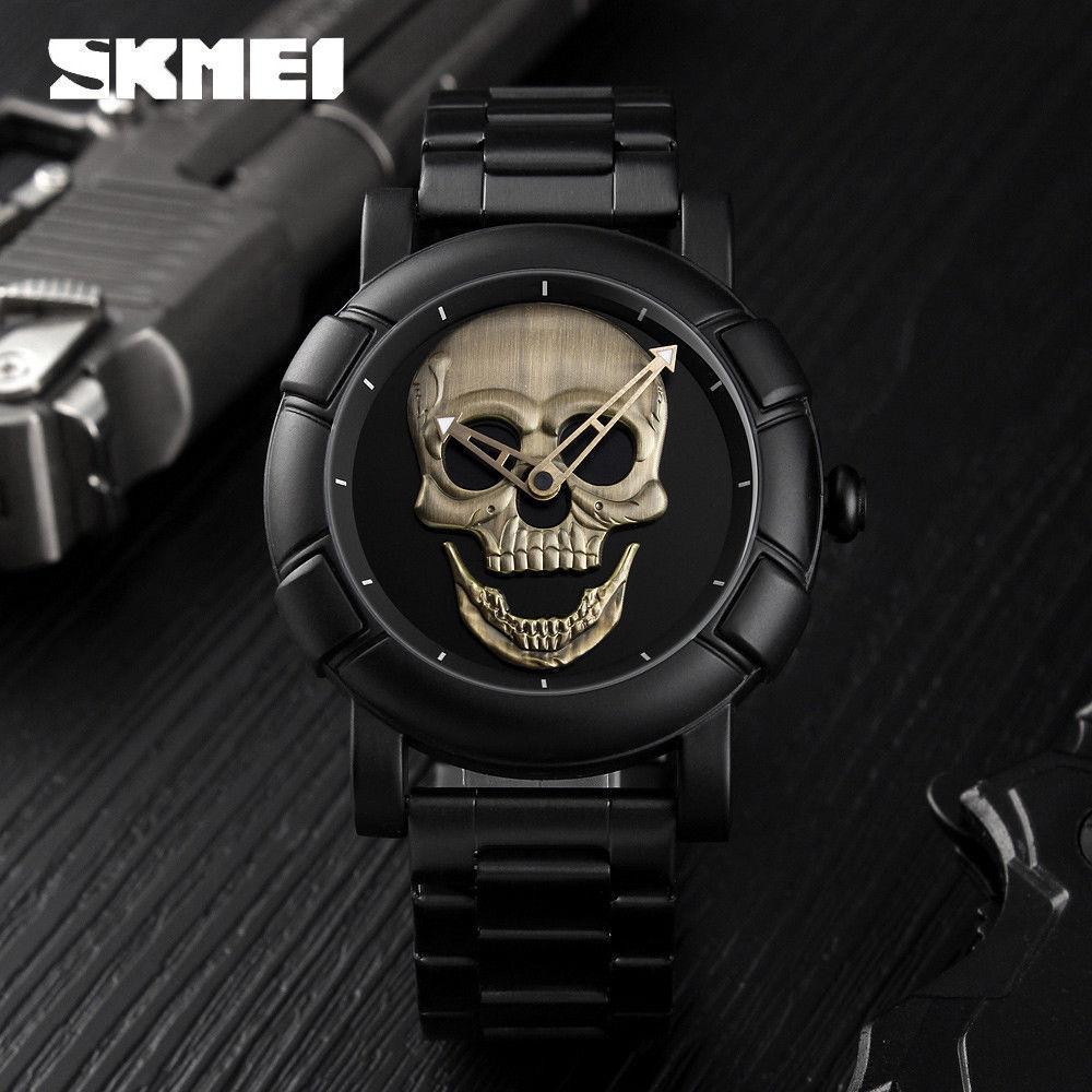 98dc1e46 Мужские наручные часы Skmei 9178 Skull в стиле Philipp Plein ...