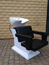 Мойка парикмахерская Light с креслом Фламинго, фото 3