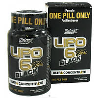 Жиросжигатель Липо 6 блек Lipo 6 Black Hers Ultra concentrate with geranium (60 caps)