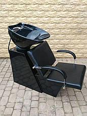 Мийка перукарня Dark з кріслом Helio, фото 2