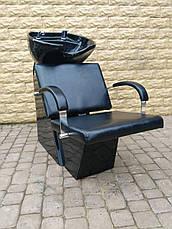 Мойка парикмахерская Dark с креслом Helio, фото 3