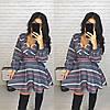 Приталенное платье с пышной юбкой К 77
