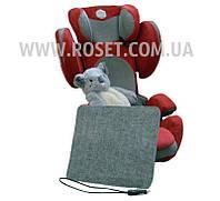 Накидка с подогревом для автомобильного сиденья 37х32 см 12V