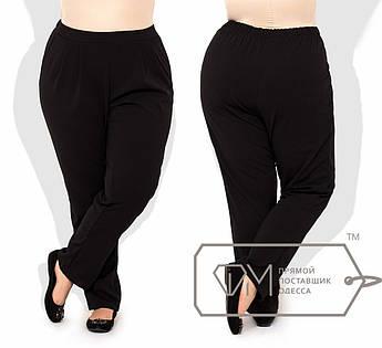 Однотонные брюки супер-батал