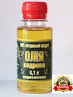Масло КЕДРОВОЕ холодного отжима 100мл от производителя, фото 1
