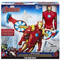Железный человек с «крыльями». Marvel Titan Hero Series Iron Man With Hover Pack, оригинал из США, фото 1