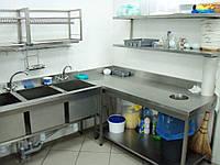 Ванна моечная сварная 700/700/850 мм, глубина 400 мм, фото 1