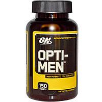Акция. Витамины и минералы для мужчин Opti-Men (150 tabs) US NEW!
