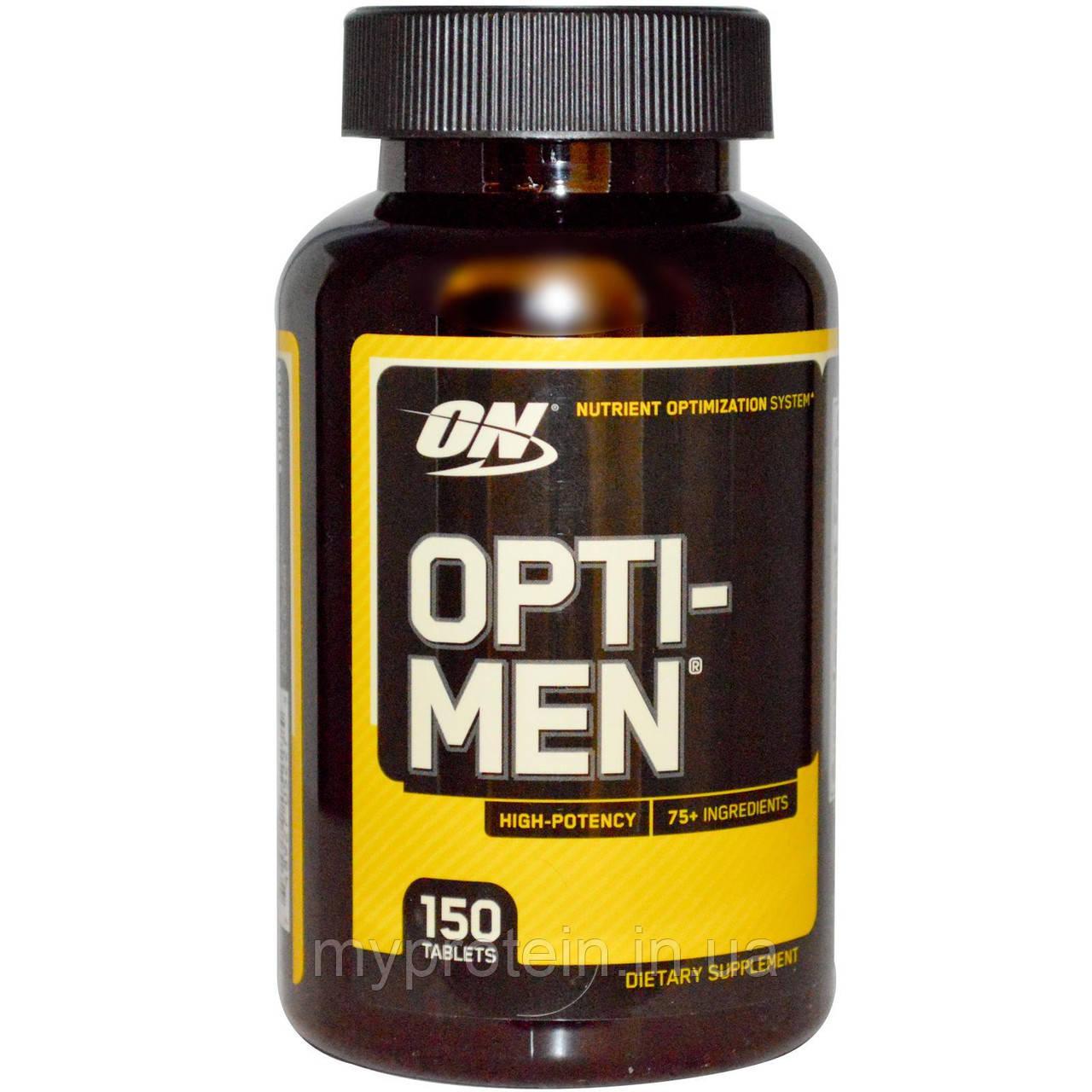 Optimum Nutrition Витамины и минералы для мужчин Опти мен Opti-Men (150 tabs) US NEW!, цена 590,25 грн., купить в Киеве — Prom.ua (ID#286106561)