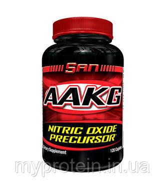 SAN Аргинин альфа-кетоглютарат AAKG (120 caps)