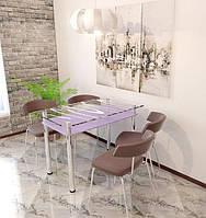"""Столы обеденные стекло """"Бриз"""""""