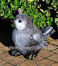 Садовая фигура Воробей большой, фото 2