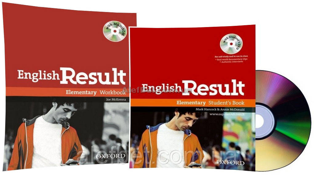 Английский язык / English Result / Student's+Workbook+DVD. Учебник+Тетрадь (комплект), Elementary / Oxford