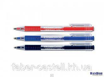 Ручка шариковая Faber-Castell GRIP Ball красная, 142421