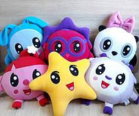 Мягкие игрушки Малышарики