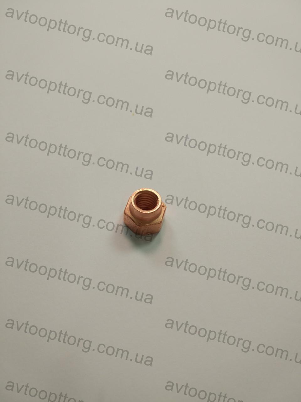 Гайка прийомной трубы ВАЗ 2108-2115 омедненная М8