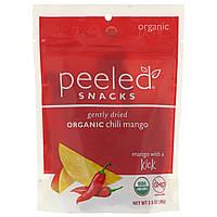 Peeled Snacks, Gently Dried Organic Chili Mango, 2.8 oz (80 g)