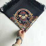 Песнь уходящего лета 1827-1, павлопосадский платок шерстяной с шелковой бахромой, фото 5