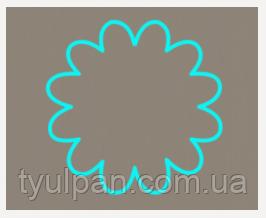 Вырубка кондитерская для пряника мастики марципана Ромашка