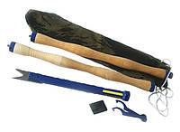 """Пешня """"Тонар"""" разборная ,Очень удобно для зимней рыбалки ,Подарок рыбаку , фото 1"""