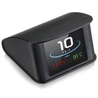 WIIYII P10 2,6-дюймовый дисплей OBD2 HUD Head-up - Чёрный