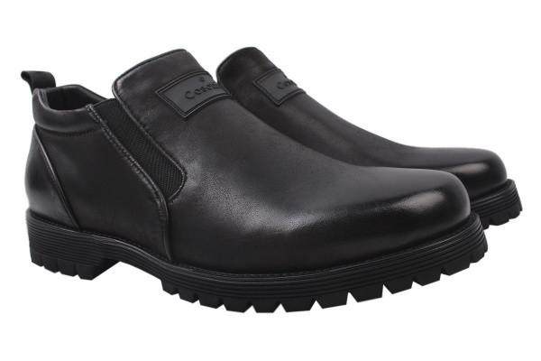 Ботинки Cosottinni натуральная кожа, цвет черный