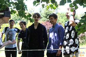 Квест для мальчиков 16 лет в Киеве от Склянка мрiй