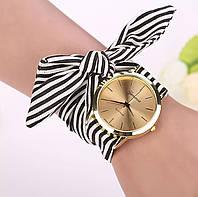 Стильные женские наручные часы на ленте «Style time» (черный)