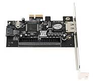Контролер PCI-E to SATA+ESATA+IDE, фото 1